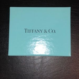 Tiffany authentic blue box with cotton padding